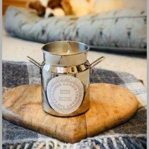 Milk Churn Candle - Barking Blossom