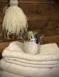 Milk Churn Candle - Fresh Linen