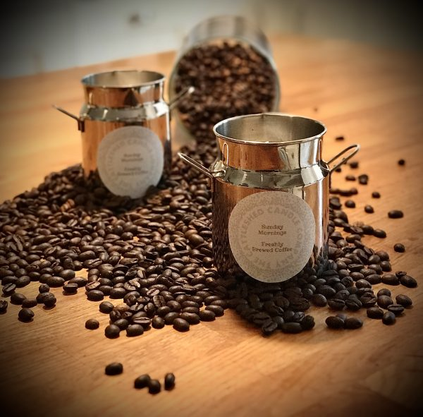 The Cattleshed Candle Company Milk Churn Candle Coffee