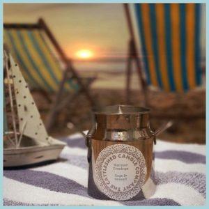Milk Churn Candle - Summer Evenings - Sea Salt & Sage